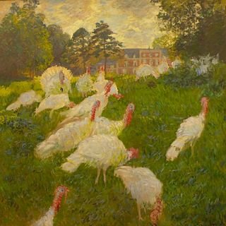 Les Dindons-Monet cropped